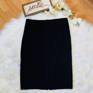 New York & Company Black Pencil Skirt Size 12